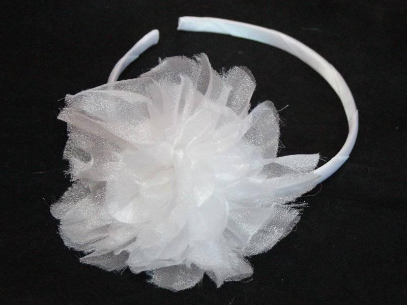 Ободок пластик-ткань