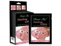 """Маска для лица """"Dazzling Glitter"""" Pink"""