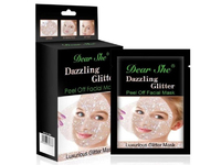 "Маска для лица ""Dazzling Glitter"" Silver"