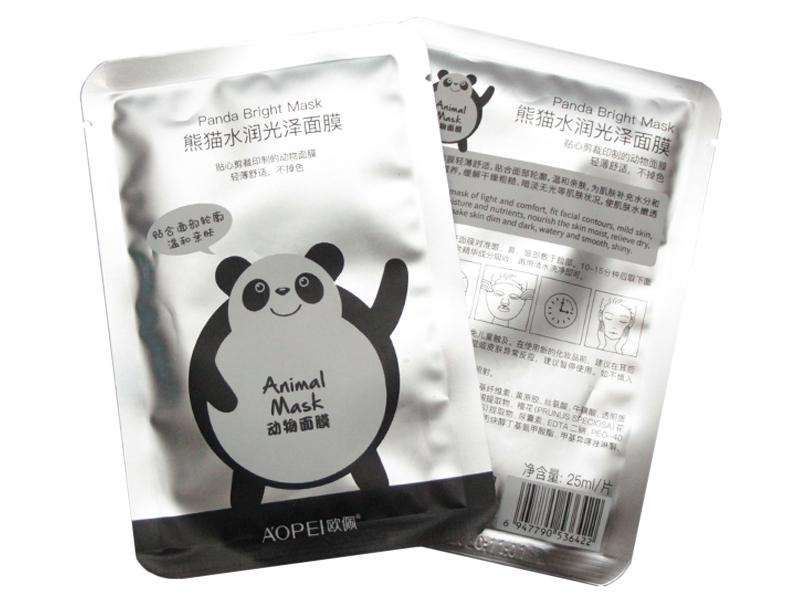 "Маска для лица ""Panda"" (тканевая)"