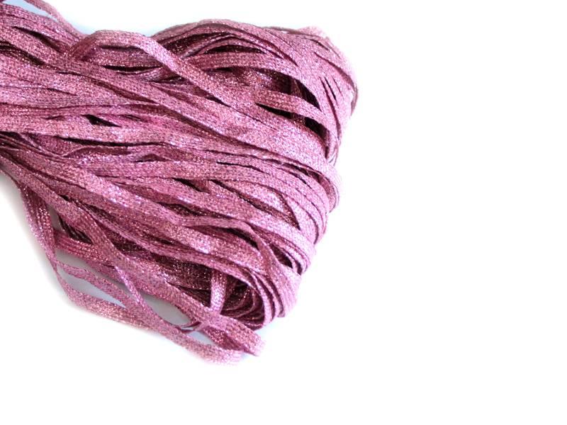 Тесьма 5мм (цвет розовый)
