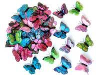 Бабочки декоративные 6см