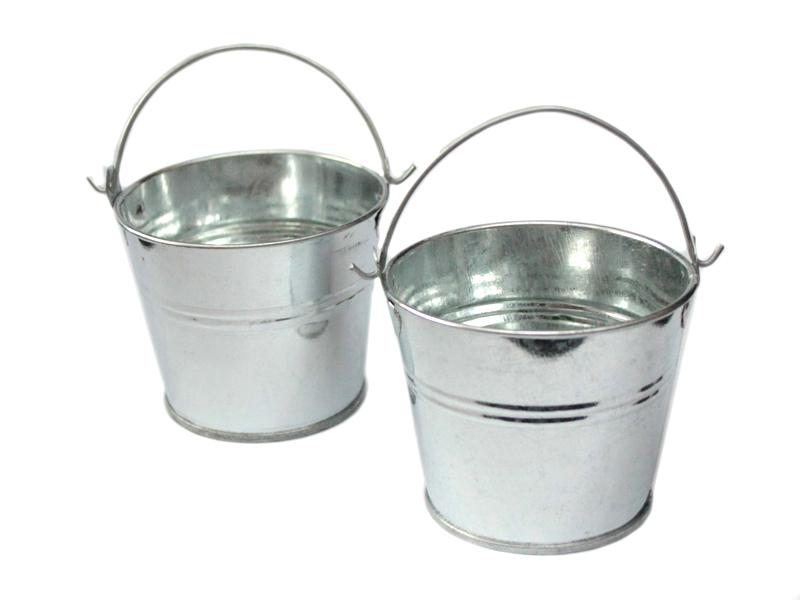 Ведро декоративное (металл) 6,5см х 6,7см