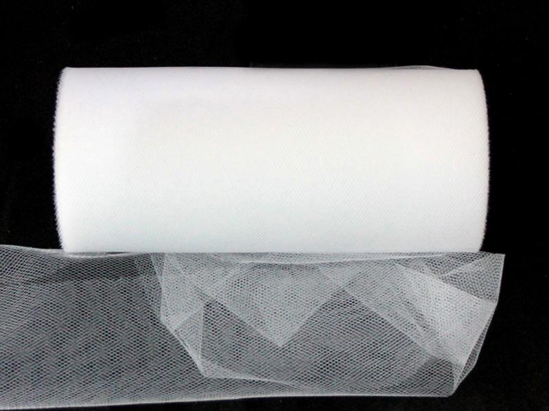 Фатин 15см x 25ярдов (цв.белый)