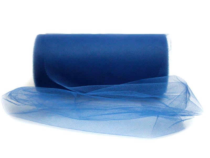 Фатин 15см x 25ярдов (цв.синий)