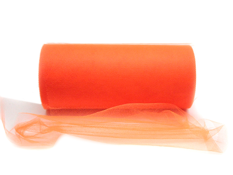 Фатин 15см x 25ярдов (цв.оранжевый)