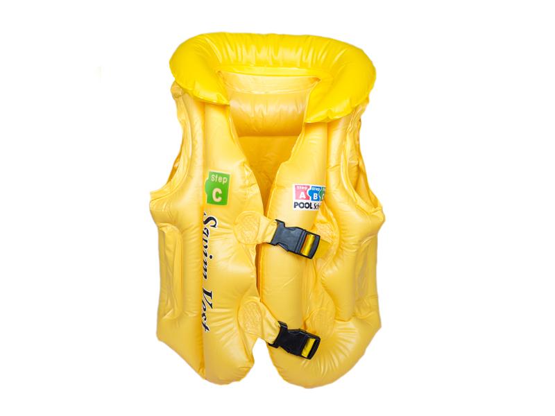 Жилет для плавания (цв. желтый) С