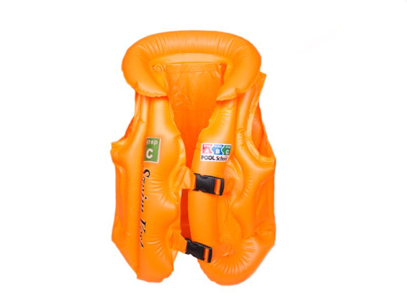 Жилет для плавания (цв. оранжевый) С