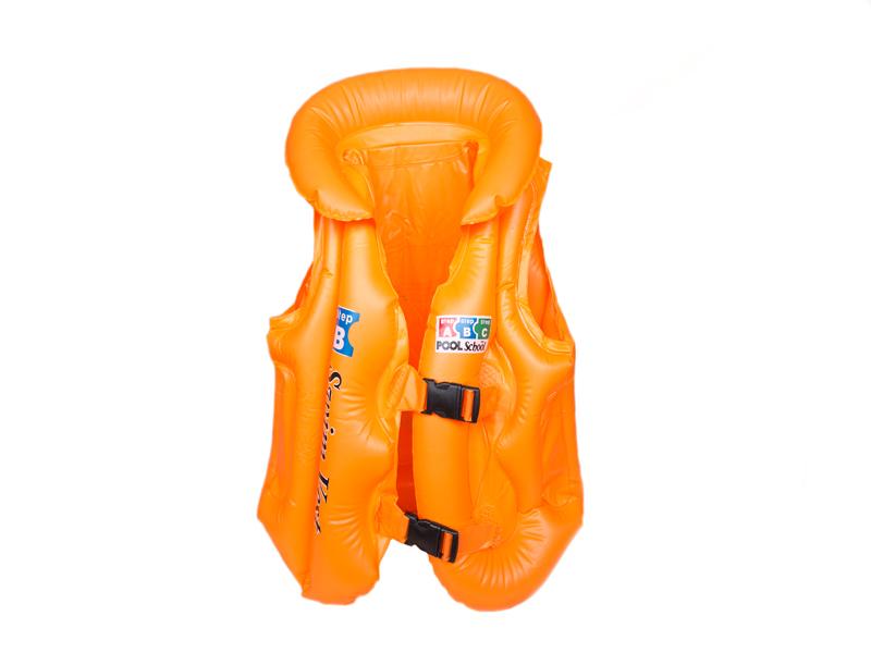 Жилет для плавания (цв. оранжевый) В