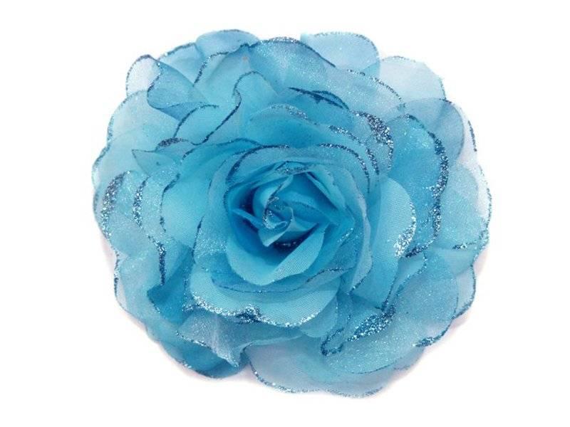 Цветок - резинка (брошь)13см