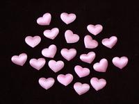 Патчи ткань 20мм (цв.розовый)