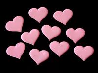 Патчи ткань 50мм (цв.розовый)