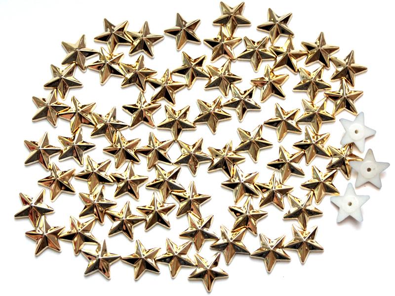 Звезды пластик 14мм