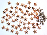 Звезды (металл с заклепкой) 15мм