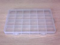 Коробочка пластиковая для мелочей 13см х 19см
