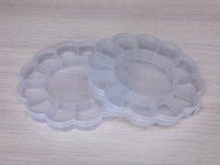 Коробочка пластиковая для мелочей 16см х 16см