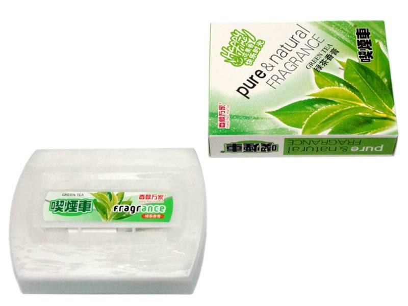 Ароматизатор автомобильный гелевый 230гр (зеленый чай)