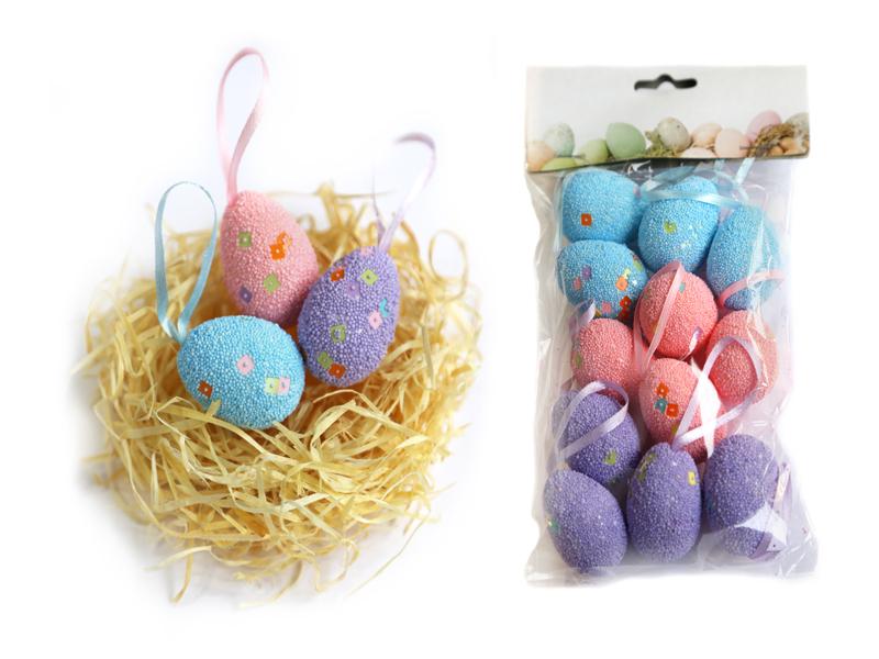 Яйца пасхальные (пенопластовые) 5см