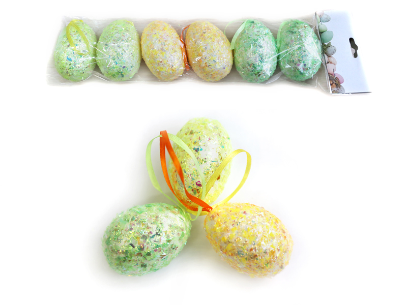 Яйца пасхальные (пенопластовые) 6см