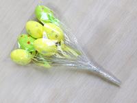 Яйца пасхальные на палке (пенопластовые) 6см