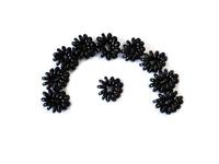 Резинки для волос силикон 45мм