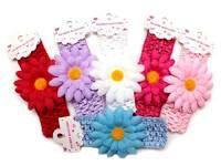 Повязка - цветок 4,5см