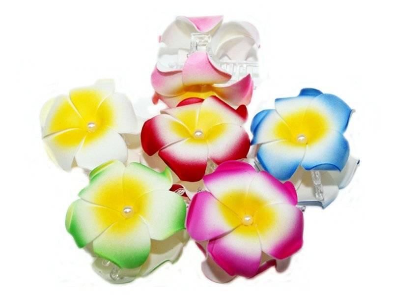 Цветок-заколка(краб)