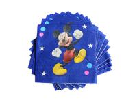 Салфетки бумажные (мультики) 16х16см