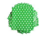 Салфетки (цв. зеленый) 16х16см