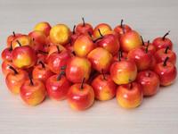 Яблоки красно-желтые (муляж) 35мм
