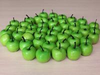 Яблоки зеленые (муляж) 35мм