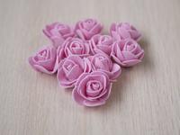 Цветы из фоамирана(цв. розовый) 3,5см