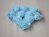 Цветы из фоамирана(цв.голубой) 3,5см