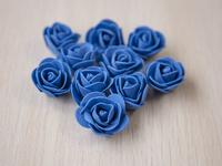 Цветы из фоамирана(цв.синий) 3,5см