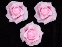Цветы из фоамирана (цв. светло розовый) 9см