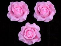 Цветы из фоамирана (цв. темно розовый) 9см