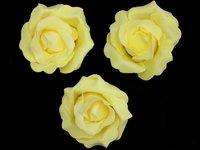 Цветы из фоамирана (цв. желтый) 9см