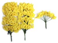 Цветы из фоамирана 25мм