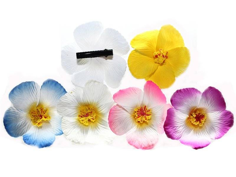 Цветок-заколка