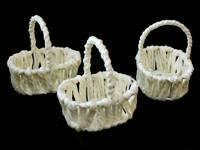 Корзинки плетеные 5см х 7см