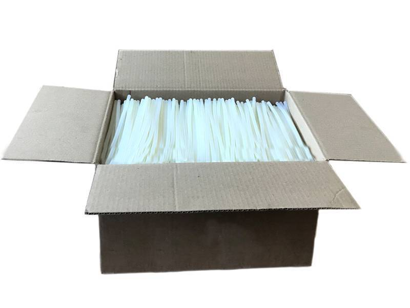 Термоклей-прозрачный(Китай) 7мм*250мм (коробка 10кг)