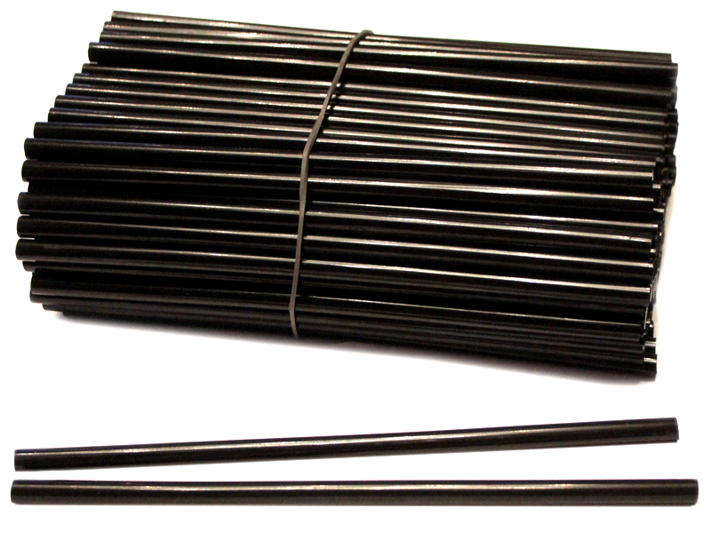Термоклей-черный(Китай) 7мм*18см (уп. 1кг)