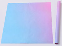 Бумага двухсторонняя радуга 58х58см
