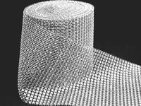 Полотно имитация страз 12см (цв.серебро)