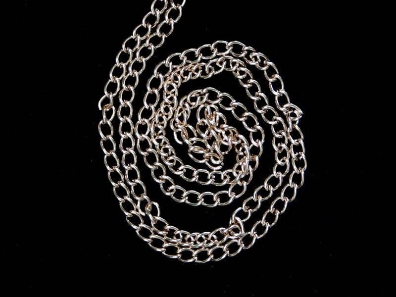 Цепи декоративные металл (цв.золото) 4мм