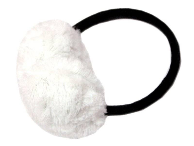 Наушники искуственный мех (цв.белый)