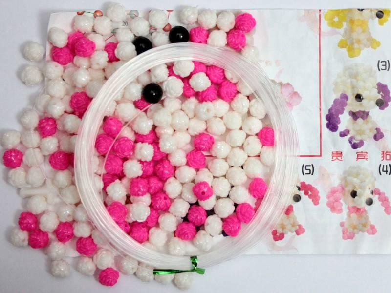 Набор для плетения из бусин