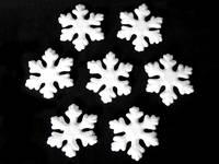 Снежинки из пенопласта 100мм