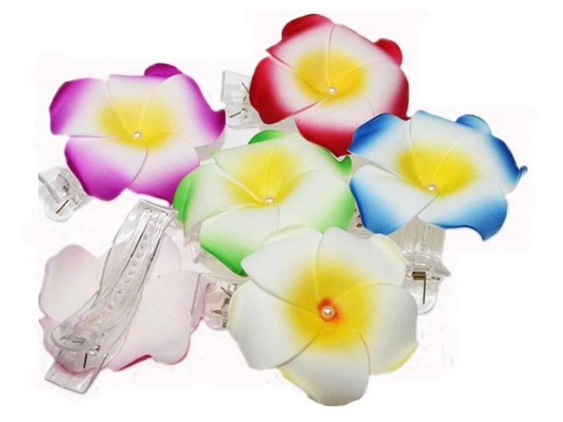 Цветок-заколка 9см