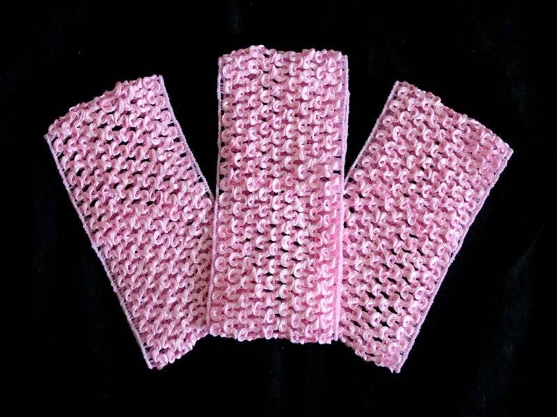 Повязки (основа) 7см (цвет розовый)